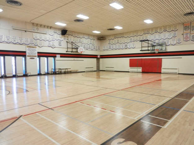 John Pritchard School gym.