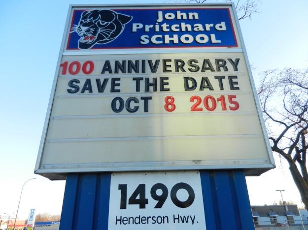 100 Years...congrats John Pritchard School.